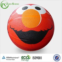 Zhensheng Promotional Custom Rubber Mini Basketball Size 3