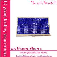 jeweled business card holder
