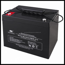 China Battery Manufacture Maintenance free Lead acid best UPS batteries 12V 70Ah Solar Battery
