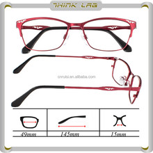 Más Popular de calidad superior montura de las gafas con lentes AC