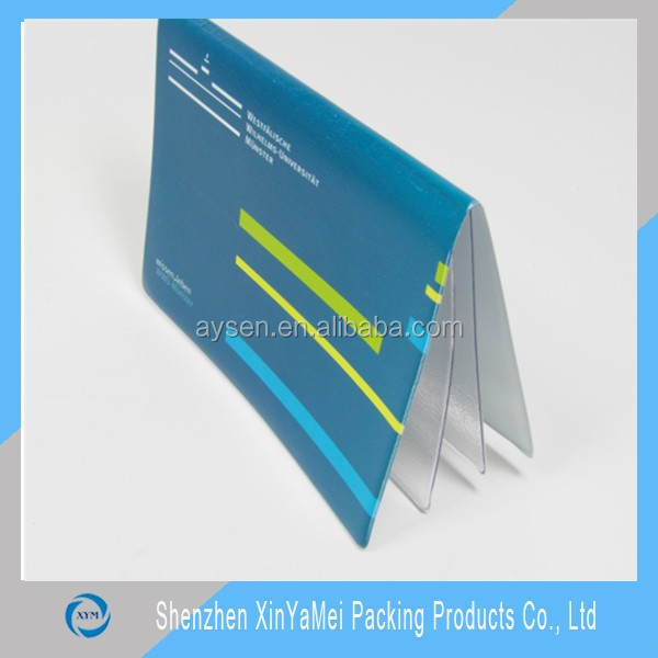 pvc card holder business card pouch
