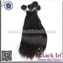 Factory sale Virgin Brazilian Cheap Straight Hair Weave fake hair pieces