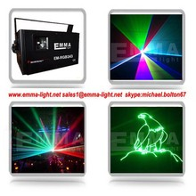 200mw RGB full color Animation laser light with SD card laser, outdoor advertisement logo projector