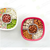 2015 Original creative design large size multi compartment and multi function candy tray