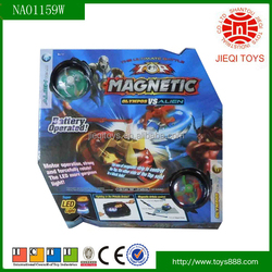 2015 New electric magnetic top toys for kids with light