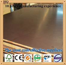 poplar core 12mm 18mm brown film faced plywood,film faced shuttering plywood,phenolic film faced plywood