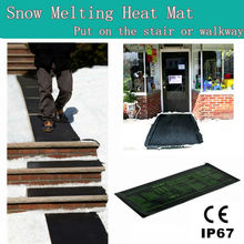 CE electric Snow melting heat mat with IP67 waterproof