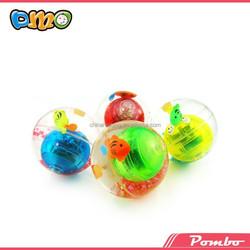 2014 Hot Sale Hi Bounce Rubber Balls Hollow Christmas Super Ball