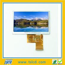 "4.3"" TST430MHWH-01 800x480 resolution GPS. MP4 ebook Display IPS LCD"