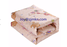 100% cotton baby quilt and bedding with carton printing for child and baby