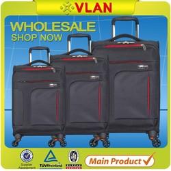 Guangzhou 3 pcs set quality brand travel luggage for wholesale