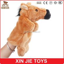 horse hand puppet new design hand puppet kids horse hand puppet