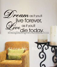 2014 Lovely Design personalized Decorative home deor Vinyl quote saying Wall Decal&Sticker from professional sticker manifacture