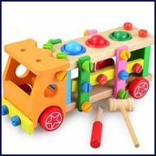 Unique newly design wooden shape box kid educational toy