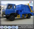dongfeng 4x2 8 metro cúbico roll braço de resíduos de lixo do caminhão coletor