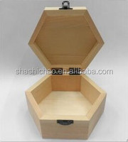 whole sale cheap small unfinished wooden boxes for crafts shanghai supplier