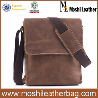 New Style Genuine Leather Messenger Men's Bag Genuine Leather Mens Shoulder Leather Messenger 1017