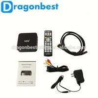 Android Tv Box Dual Core Aml8726 1.8Ghz 1G Ram 8G Rom Wifi Mini Mx Tv Box With 2.0 Mp