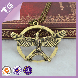 The Hunger Games --Laugh at bird the double necklace