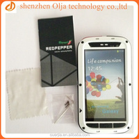 With retail package selling aluminum metal cover for samsung galaxy s3 waterproof case