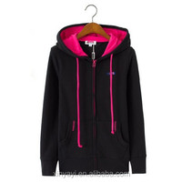 2014 custom hoodies for women is made in China/fashion hoody with free style