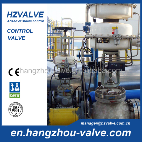 steam valve control