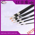 trança de cobre nu rca adaptador de cabo coaxial