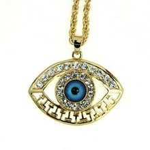 Última moda joyería de mal de ojo, collar de mal de ojo (NK-040)