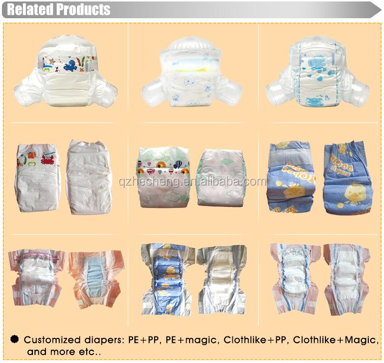 Super doux coton imprimé respirant nouveau-né bébé nappy diaper
