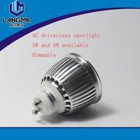 Langma 38 degree spotlight COB Samsung 6W spotlight narrow beam angle led spotlight