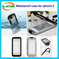 High quality fashional design waterproof silicone case ip67 for iphone 4 4S 4G