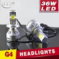 C ree los faros led de cn360 Super brillante 12 V 36 W 3200LM Auto luz antiniebla bombillas h7 led bombillas de los faros