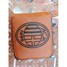 new design man PU purse, zipper black wallet for man(WT-150420003)