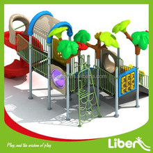 2015 New Design Outdoor Plastic Playground for outside playground area