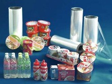 Chinese transparent center fold POF shrink film for bottle packaging