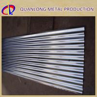 Z100 Galvanized Steel Metal Roof Corrugated Sheet Metal Price