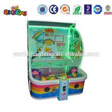 Big discount luxury indoor arcade basketball hoop 2 player basketball arcade game