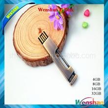 Brass padlock shaped USB Flash Drive