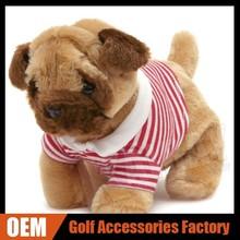 Custom Animal Golf Head Cover - Unhappy Dog Golf Putter Headcover