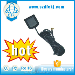 Good level quality universal for auto 1575.42MHz and 20dBi high gain and 3m(RG-174U)cable auto tv gps antennas used for Honda