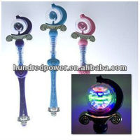 Princess Spinning Light Up Wand - Colors may vary