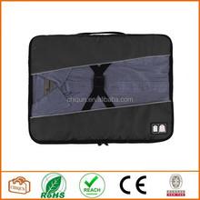 2015 Chiqun Dongguan Travel Accessories Luggage Organizers Packing Black
