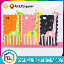 Young people loves soft silicon animal case for iphone 4