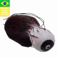 Drop shipping from Brazil 2015 halloween terrible eyeball toy eyeball decoration