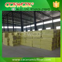 CCE FIRE 60kg/m3 high temp sound adsorption rock wool fireproof insulation