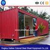 Move-in Strong steel frame Shipping Container Homes/container house with bathroom