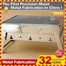 2014 Hot sale custom smokeless charcoal barbecue grill with 32-year experience