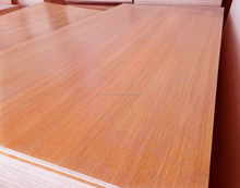 One side or two side wood grain and pure color melamine plywood