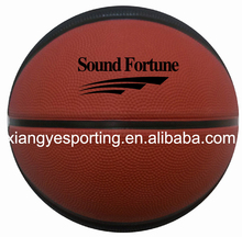 Sponge 9panels rubber basketball in 2015