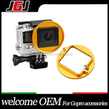 Professional 58mm Colour Lens Filter Adapter Ring For Gopro Hero3 Camera Underwater Diving